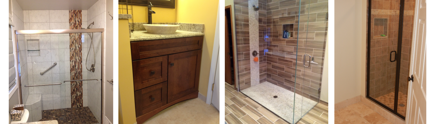 Bathroom remodeling with jmj residential for Residential bathroom remodeling